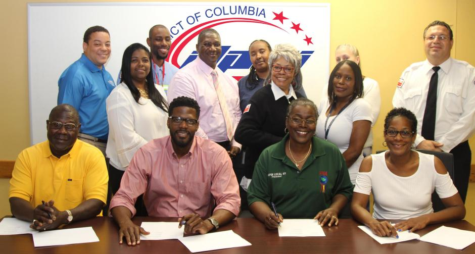 Dpw Signs Partnership Agreement With All Three Labor Unions Dpw