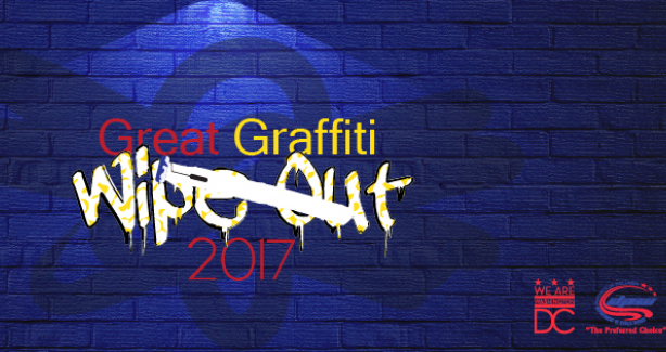 Great Graffiti Wipeout 2017 Banner