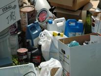 Electronic trash in heap