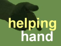 hand with text helping hand