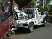 photo of a tow truck